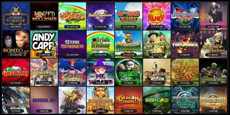 popüler casino oyunları