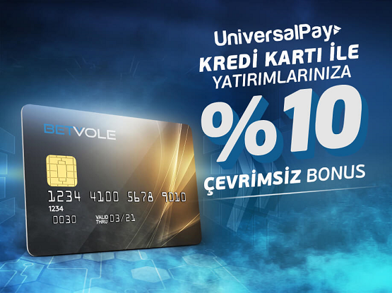 betvole kredi kartı bonusu