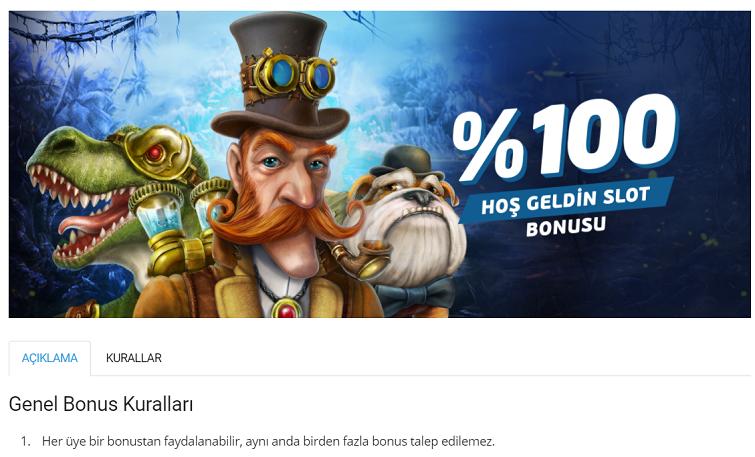 Betvole Slot Hoşgeldin Bonusu